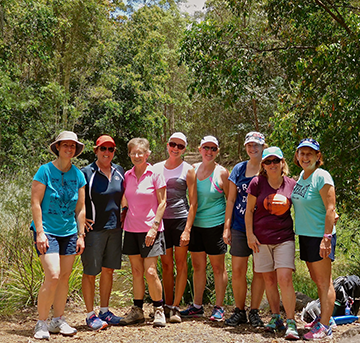 Friday Funday hiking with Women's Fitness Adventures