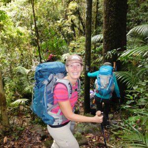 Happy hikers with Women's Fitness Adventures