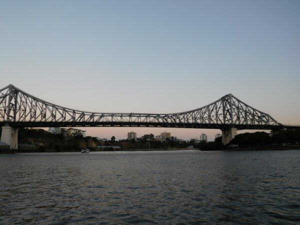 Story Bridge on Women's Fitness Adventures Friday Night City Lights walk
