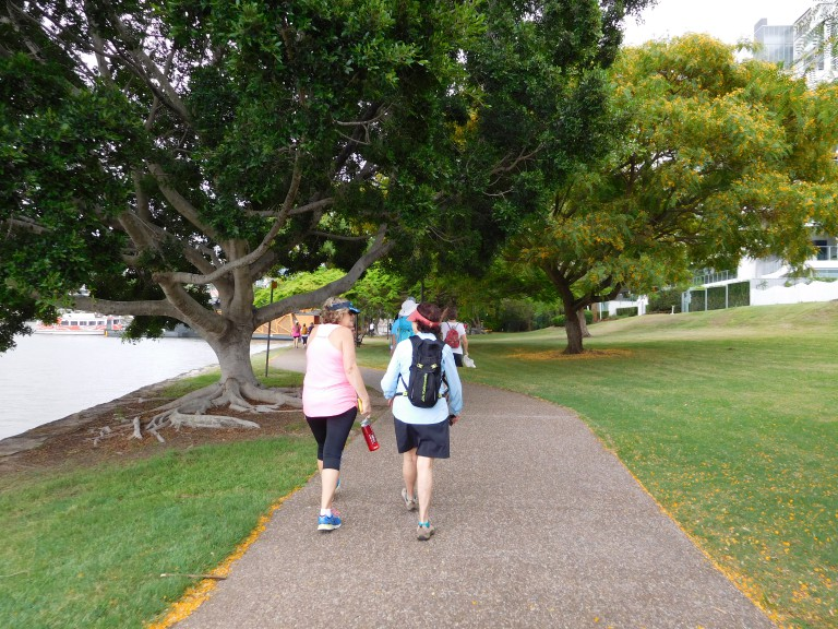 City Walk and Talk with Womens Fitness Adventures