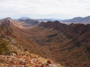 Counts Point on the Larapinta Trail Hiking Adventure with Women's Fitness Adventures