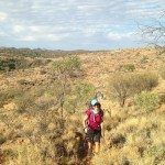 Women's Fitness Adventures on the Larapinta Trail