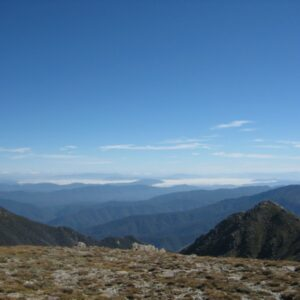 The view over the Mt Kosciuszko National Park