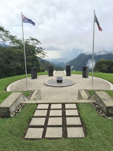 War Memorial at Isurava Battle Site