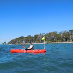 Paddling to CoochieMudlo with Women's Fitness Adventures