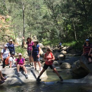 Introductory Rock Hopping with Women's Fitness Adventures