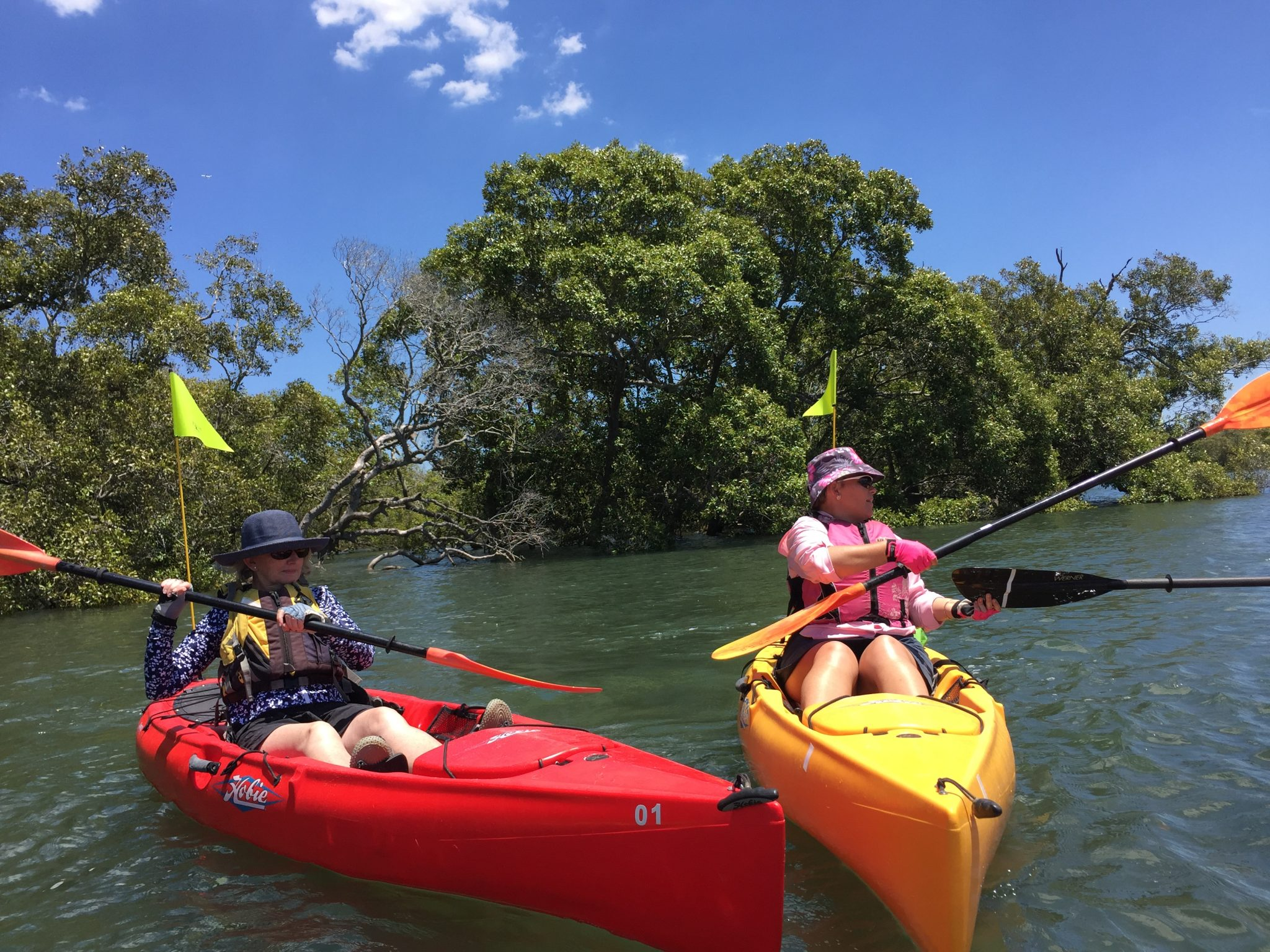 Kayaking with Women's Fitness Adventures