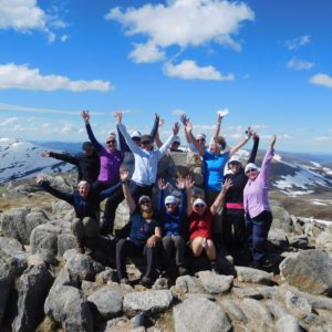 Mt Kosciusko Summit with Women's Fitness Adventures