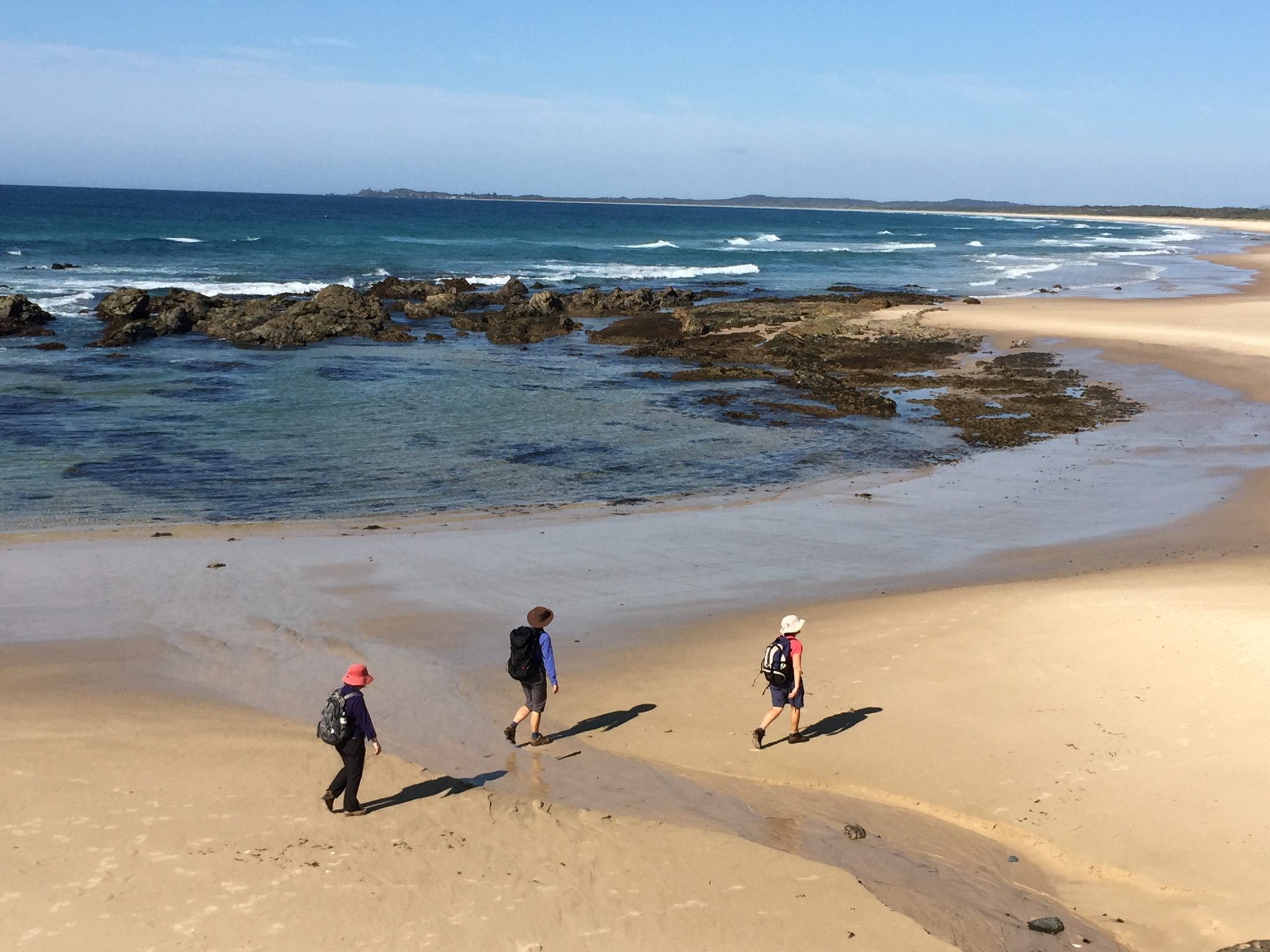 Yuraygir National Park with Women's Fitness Adventures
