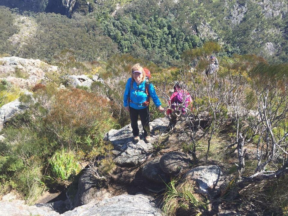 Womens Fitness Adventures Mt Barney Summit 3
