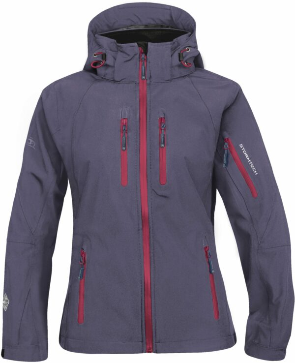 Women's Fitness Adventures Soft Shell Expedition Raincoat