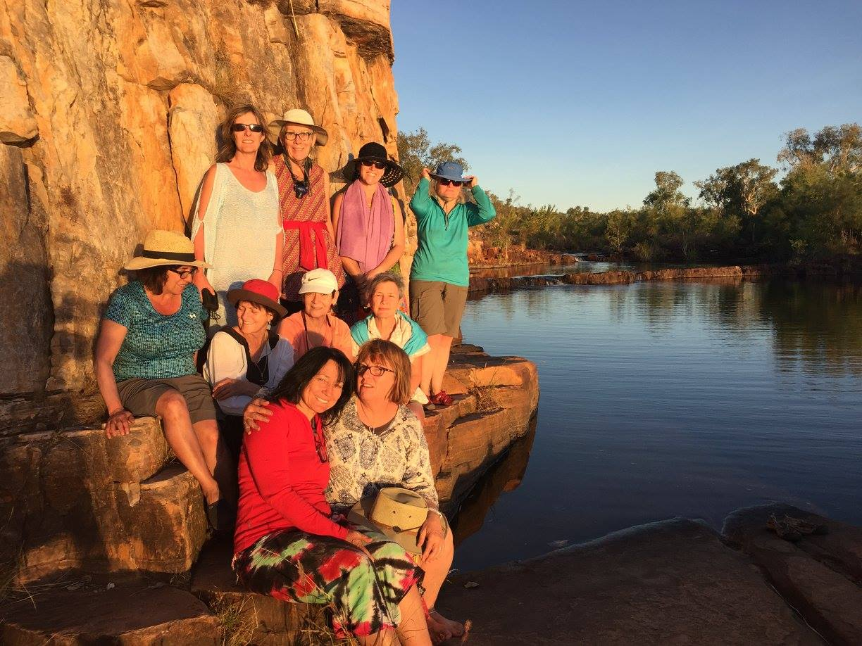 Sweetwater Pool on the Jatbula Trail Hiking Adventure with Women's Fitness Adventures