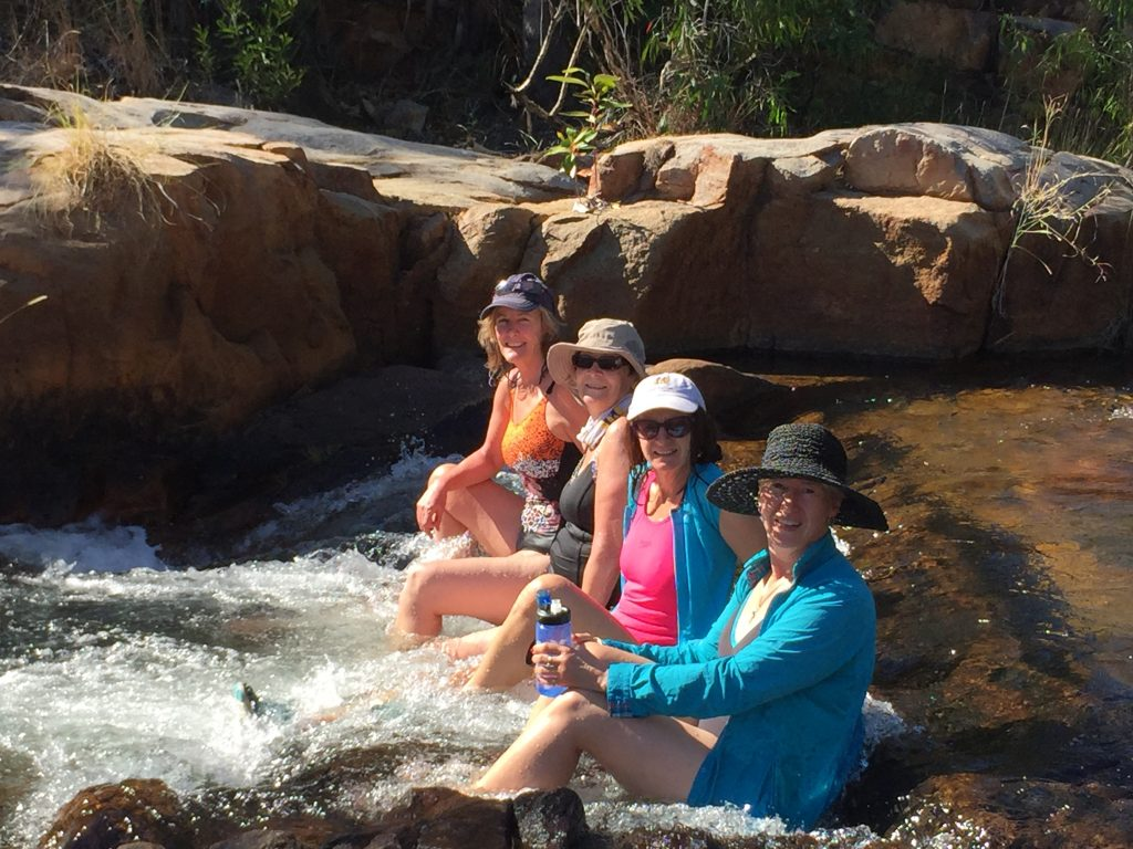 Crystal Falls Campsite with Women's Fitness Adventures