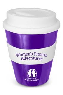 Reusable Women's Fitness Adventures Coffee cup