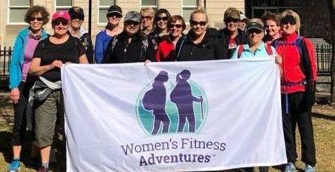 Queensland week walk and talk with Women's Fitness Adventures 2019