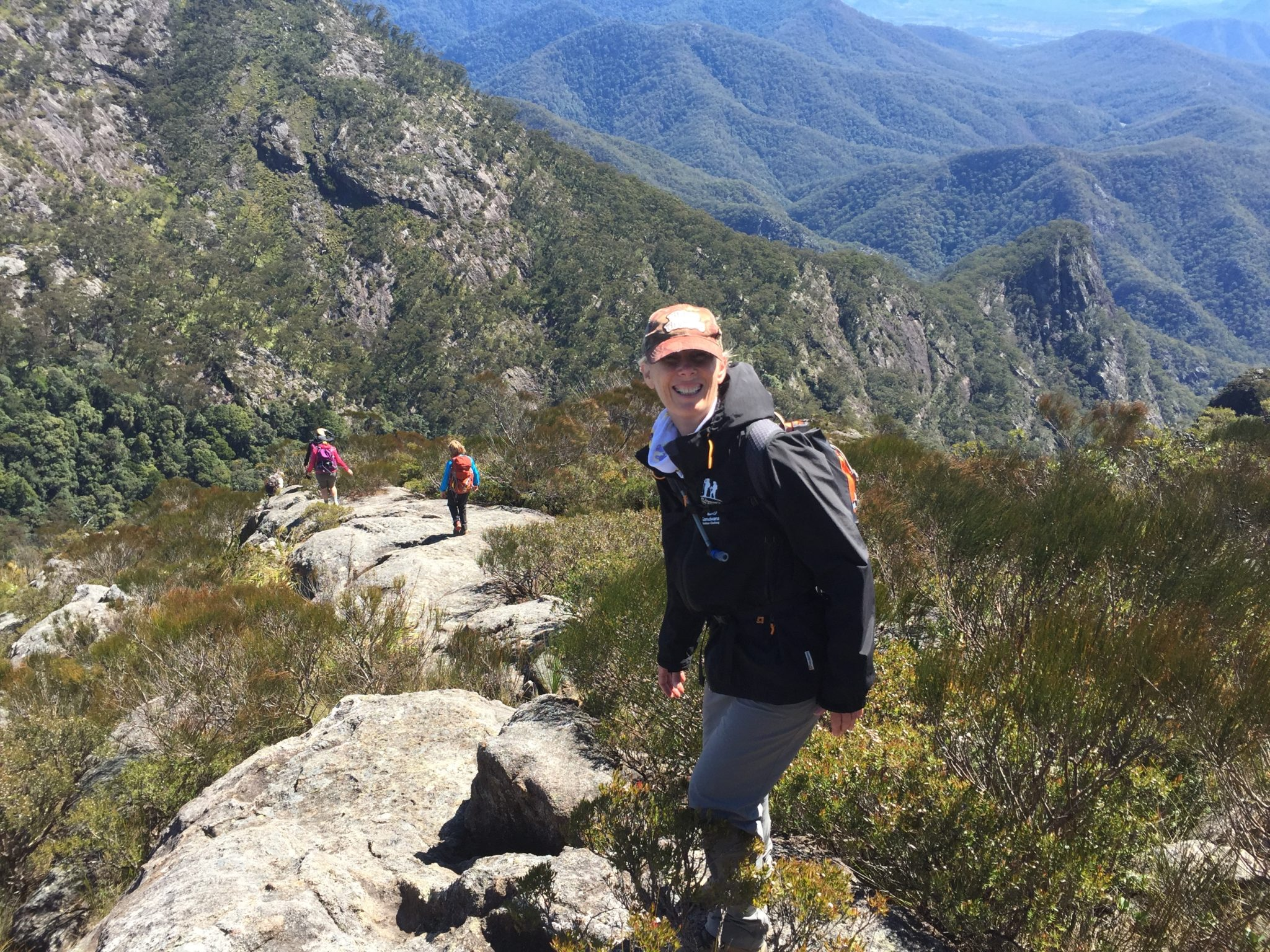 Mt Barney Summit with Women's Fitness Adventures