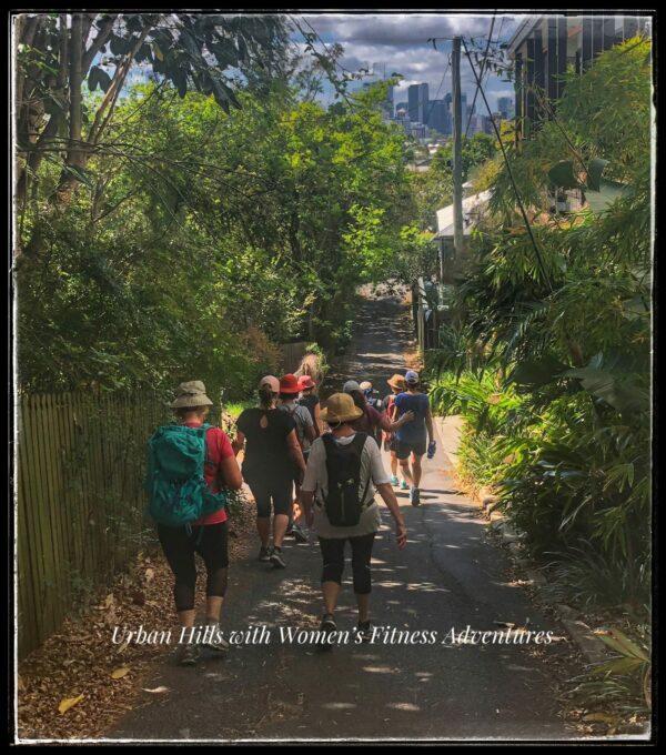 Urban Hills with Women's Fitness Adventures