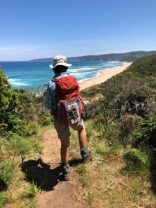 Day pack hiking with Women's Fitness Adventures