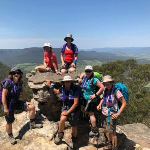 Blue Mountains with Women's Fitness Adventures