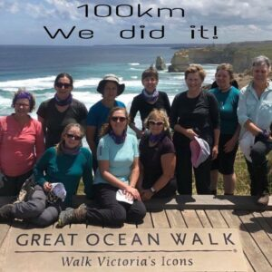 Completing the Great Ocean Road Hiking Adventure with Women's Fitness Adventures