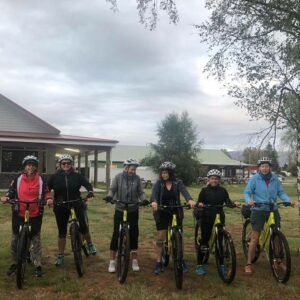 Cycling in NZ with Women's Fitness Adventures