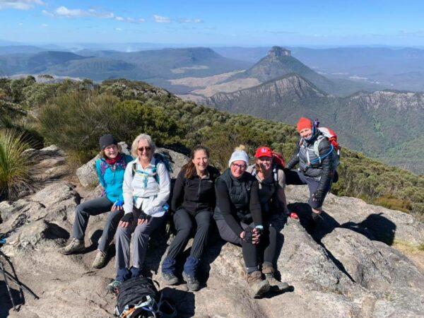 Mt Barney Summit with Women's Fitness Adventures