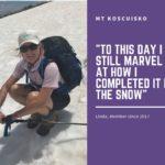 Linda's summit hike