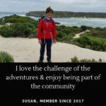 Susan and Women's Fitness Adventures