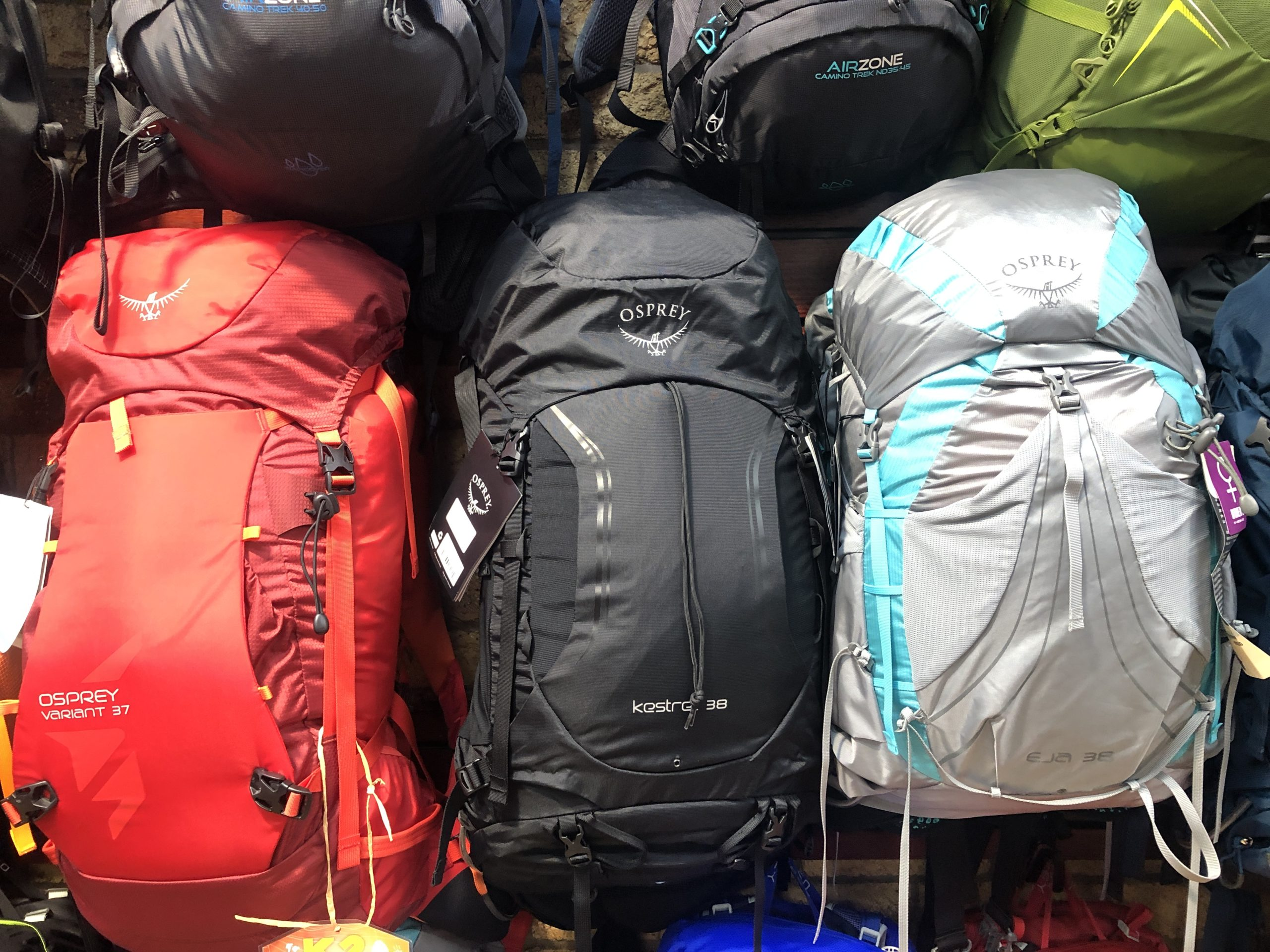 Backpacks with Women's Fitness Adventures