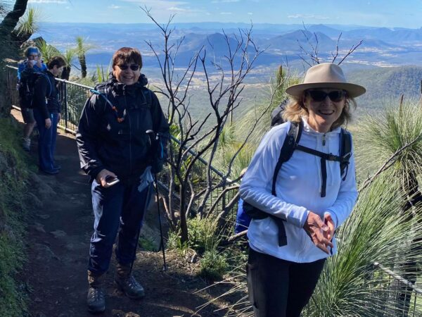 Mt Cordeaux Hike and Bare Rock with Women's Fitness Adventures