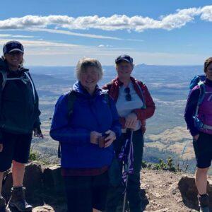 Hiking Mt Cordeaux