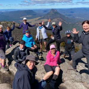 Success is reaching the summit of Mt Barney