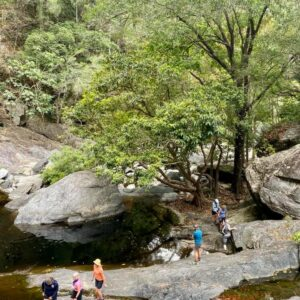 Day hiking in the tropics with Women's Fitness Adventures