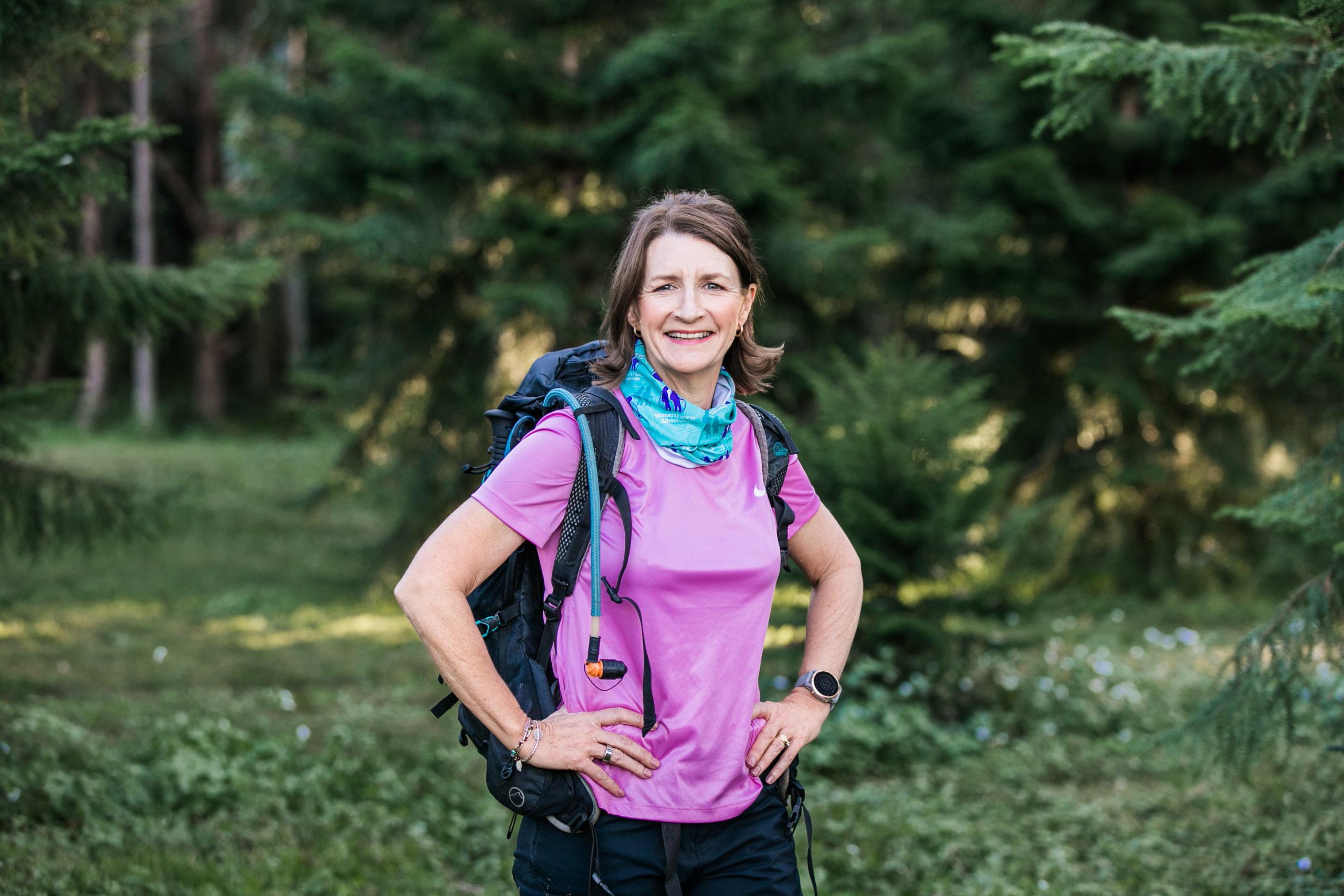 Yvonne Shepherd, CEO of Women's Fitness Adventures