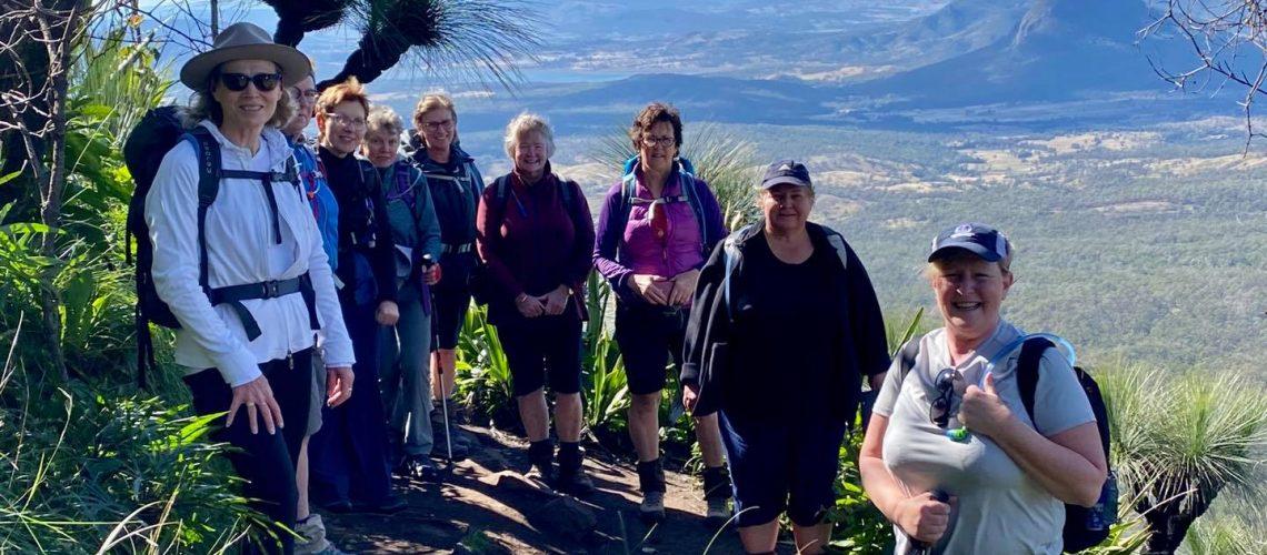 Mt Cordeaux with Women's Fitness Adventures