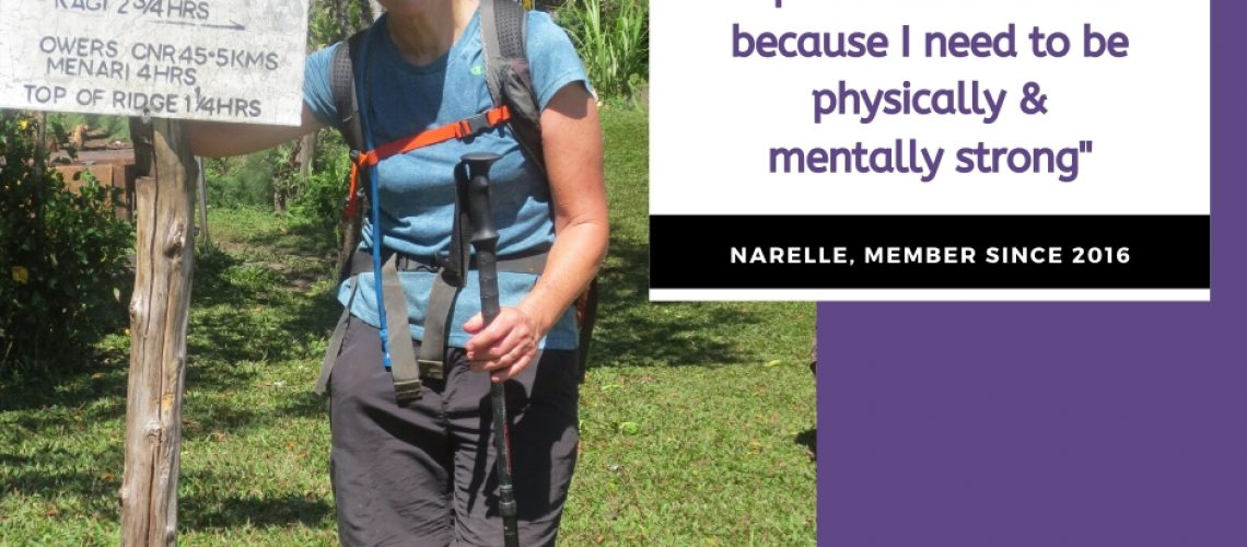 Narelle's story with Women's Fitness Adventures